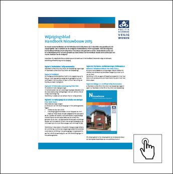 Wiijzigingsblad Handboek Nieuwbouw