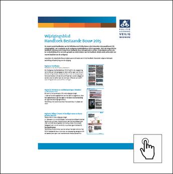 Wijzingingsblad Handboek BB