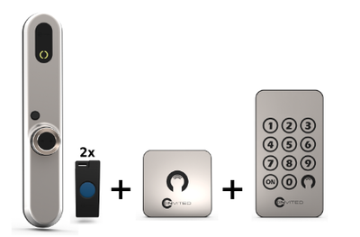 Invited Smart Lock 30-45 + Wandschakelaar + Keypad